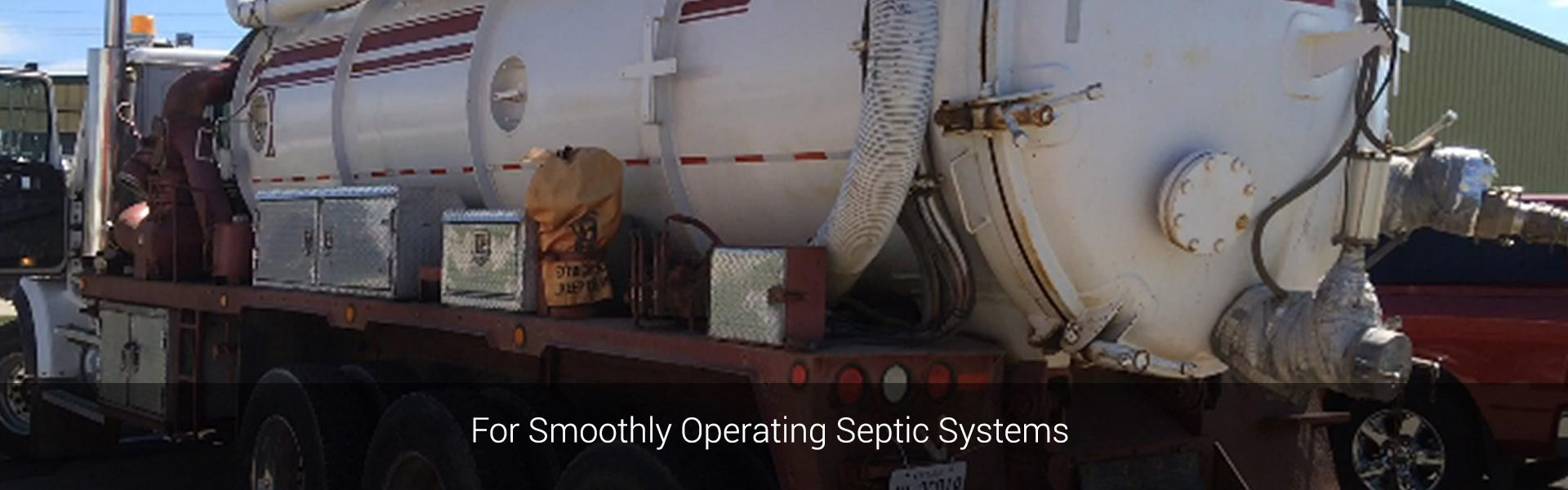 For Smoothly Operating Septic Systems | Pump truck